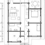 Дом 1-о этажный ЛТ-90