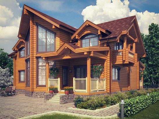 Проекты деревянных домов и бань